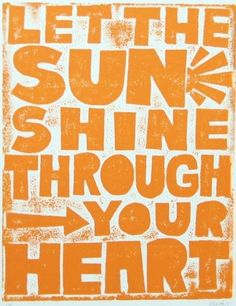 Let the sun shine.... || #quotes #happiness