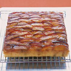 Plum Upside-Down Cake Recipe   Food Recipes - Yahoo! Shine