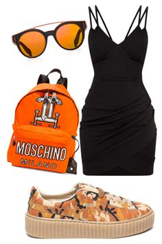 Untitled #60 by pavlinakrc on Polyvore featuring polyvore fashion style Puma Moschino Givenchy clothing