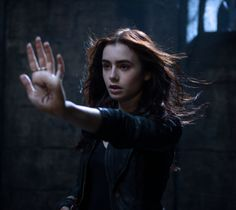 Lily as Clary Fray in City of Bones