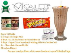 Reese's Shake #Project10 #Fitness #weightloss #Healthy #Vi #BodyByVi #Motivation #Workout #ZLoescher #MLM #Successful #Entrepreneur #PersonalTrainer