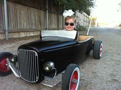 pedal car, hot rod stroller, 32 ford roadster=====>Information=====> https://www.pinterest.com/codfishpd/cods-pedal-cars-etc/