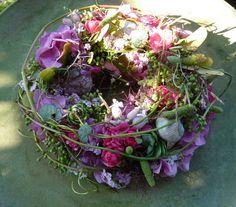 sommer... Wreaths, Spring, Floral, Nature, Flowers, Objects, Art, Flower Art, Summer