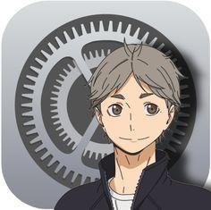 Cover App, App Covers, Mobile App Icon, Ios App Icon, L Wallpaper, Haikyuu Wallpaper, Kawaii App, Apps, App Icon