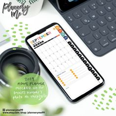 2019 Smart Phone Planner - Monthly, Weekly and Daily Spreads - for GoodNotes, Notability, Xodo and other PDF apps Planner Apps, Planner Journal, Travel Planner, Planner Stickers, College Planner, Themed Gift Baskets, Mac Wallpaper, Digital Journal, Planner Template