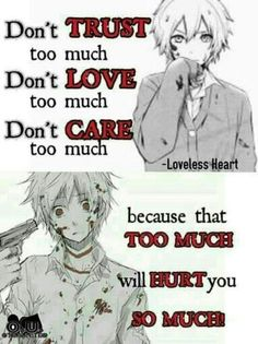 Share with your friend and click image to see our anime store. Sad Anime Quotes, Manga Quotes, True Quotes, Best Quotes, Dark Quotes, Depression Quotes, Anime Life, In My Feelings, Words
