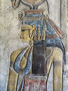 Egypt, Thebes, Luxor, Valley of the Kings, Tomb of Tausert, Expanded by Setnakht, Antechamber to burial chamber, Mural paintings