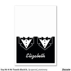 Black escort name tie