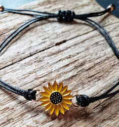Pinky promise best friends sunflower bracelet pair Charm Jewelry, Jewelry Gifts, Fine Jewelry, Handmade Jewelry, Silver Cleaner, Custom Charms, Friend Bracelets, Ankle Bracelets, Friends