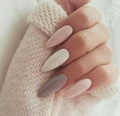 Wow these are stunning and the length/ shape of the nails are perfect! I also love the matte finish of the nail polish❤️