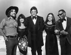 Waylon Jennings Wife Jessi Colter | Johnny Cash invites friends Waylon Jennings (left), Jessi Colter, wife ...