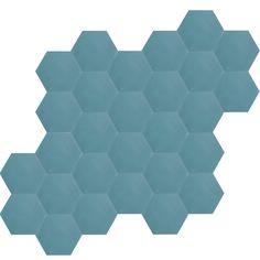 Tuiles hexagonales - Bruno
