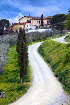 Tuscania Farm, Italy by Ata Alishahi