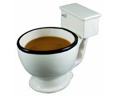 Toilet Bowl Coffee Mug  - http://1uptreasures.com