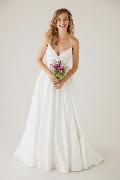 The utterly romantic 'Charming' dress by @astridmerced. See more here: http://www.astridandmercedes.com/gowns/charming