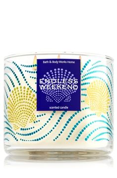 Endless Weekend 3-Wick Candle - Days of sunshine & happiness, captured in…
