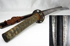Body Cutting Tested Sword by FUYUHIRO冬広:  150Yr EDO Japanese Samurai Long Katana
