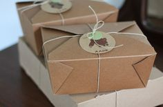 Love this idea for boxes