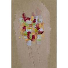Sylvia Martins - Jellyfish, oil on linen, 30 x 20 inches, at Mozumbo Contemporary #Art https://mozumbo.com