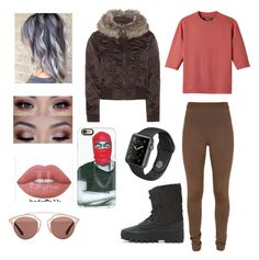 """""""Untitled #173"""" by courtneylfoxwelll on Polyvore featuring adidas Originals, Balmain, Christian Dior and Casetify"""