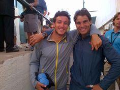 Rafael Nadal and Pico Monaco win doubles opener in Viña del Mar. #welcomebackrafa