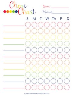 How to Implement a Chore Chart by More than a Mom of Three
