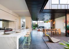 Modernist-inspired extension added to Victorian house