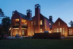 Wohnhaus Raleigh, NC State University, USA: Klinker Triangle Brick…