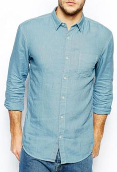Light Grey Shirt with Front Stripes | Buy Casual Men Shirts in ...