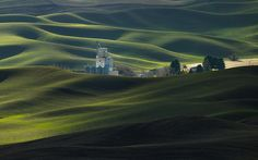 Shadows and light on the Palouse in Eastern Washington Green Carnation, Carnations, Monument Valley, Northern Lights, Washington, Shadows, Lighting, Nature, Travel