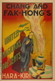 Chang and Fak-Hong's: united magicians presents Hara-Kiri. 1930