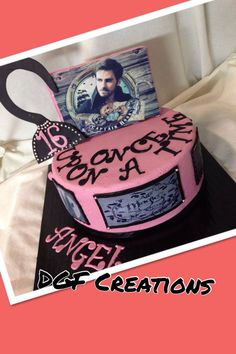 Once upon a time cake , Captain Hook