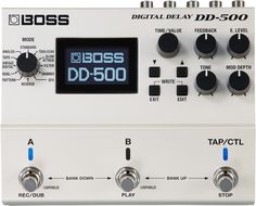 Boss DD-500 Digital Delay Guitar Effects Pedal                                                                                                                                                                                 Mais