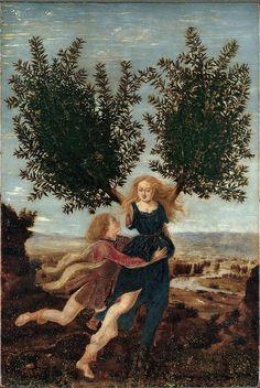 walnutandpoppy: Apollo and Daphne, Antonio del...
