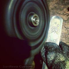 Handmade custom collars by SanRevo Custom.