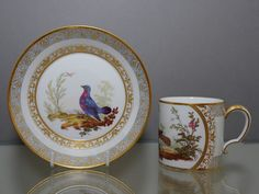 OnlineGalleries.com - Sevres Cup and Saucer