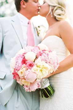 So Pretty and Springy(the Season) :)!!! And I mean't the bouquet, NOT the couple!!!