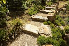 Zo leg je een rotstuin aan in acht simpele stappen | homify | homify Stepping Stones, Sidewalk, Outdoor Decor, Inspireren, Image, Home Decor, Pictures, Stair Risers, Decoration Home