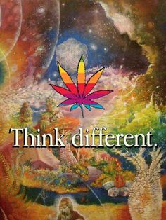 Think different, sometimes u just need an escape from your mind