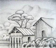 easy pencil drawings for beginners