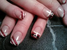 106 Best Christmas Gel Nails Images Christmas Manicure
