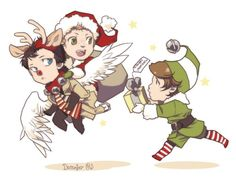 Christmas Destiel <3