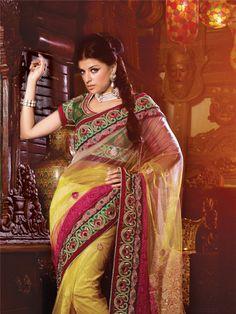 Designer Saree from ShivamPrints