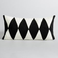 Alazie Embroidered Cotton Cushion Cover