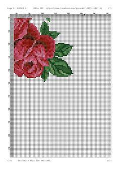 Cross Stitch Borders, Cross Stitch Rose, Cross Stitch Charts, Cross Stitch Patterns, Minnie Baby, Create A Board, Today Show, Blackwork, Needlepoint