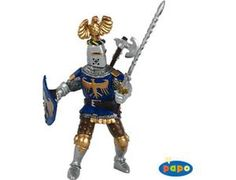 The Knight with Blue Crest from the Papo Castles and Knights collection - Discounts on all Papo Toys at Wonderland Models. One of our favourite models in the Papo Knights range is the Papo Knight with Blue Crest. Papo manufacture wonderful, amazingly accurate models of all sorts of toy figures, particularly knights and horses including this model of the Knight with Blue Crest which can be complemented by any of the items in the Castle Accessories range.