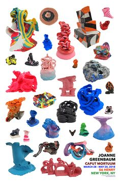 JOANNE GREENBAUM Graffiti, Sculptures, Clay, Gallery, Instagram, Artists, Design, Graphics, Paintings