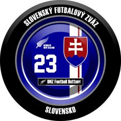 DNZ Football Buttons: Seleção da Eslováquia