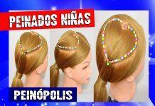 Peinados para Niñas Faciles y Rapidos con Ligas