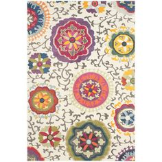 Shop Wayfair.co.uk for Safavieh Salma Ivory/Multi Rug - Great Deals on all  products with the best selection to choose from!